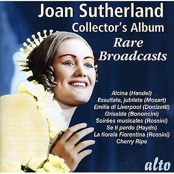 Joan Sutherland - Joan Sutherland: Sällsynta sändningar [CD] USA import