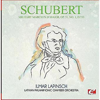 Schubert - militær March i D store Op. 51 No. 1 D.733 [CD] USA import