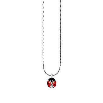 ESPRIT kids chain necklace silver Ladybug ESNL91889A340