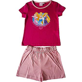 Girls Disney Princess Short Pyjamas Set
