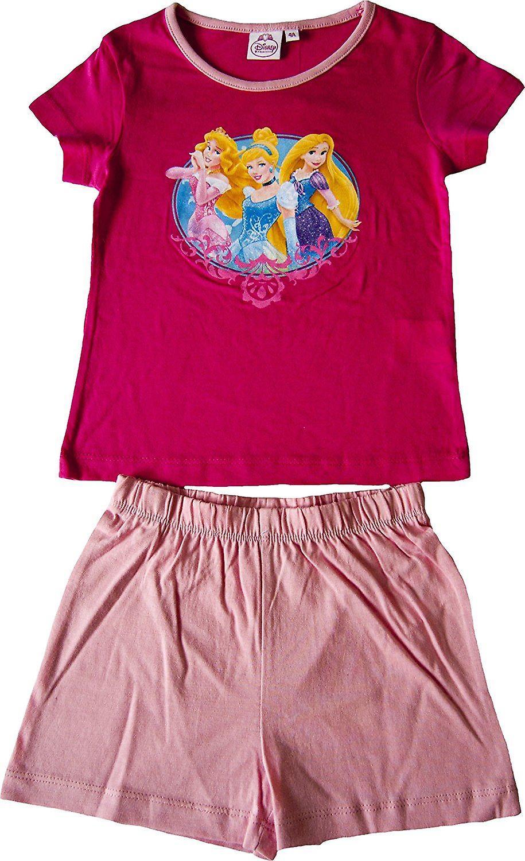 Mädchen Disney Princess kurzer Pyjama Set