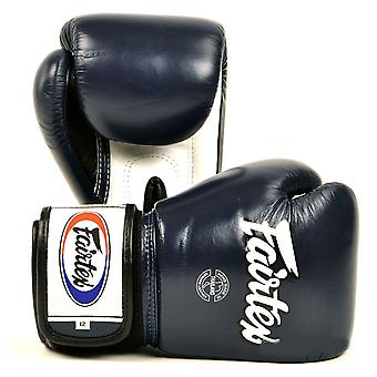 Fairtex Boxing Gloves 3 Tone - Blue
