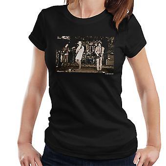 The Libertines uitvoeren van Pete Dohery Carl Barat Women's T-Shirt
