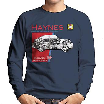 Haynes Owners Workshop Manual 0084 Volkswagen 1600 Fastback mannen Sweatshirt