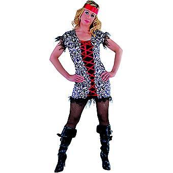 Kvinder kostumer kvinder pirat dame sort eller pink