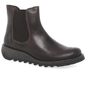 Fly London Salv Womens Casual Ankle Boots