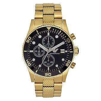 Armani Watches Ar5857 Gold Stainless Mens Watch