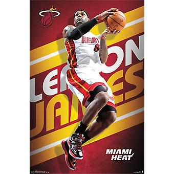 LeBron James - 2013 Plakat Poster drucken