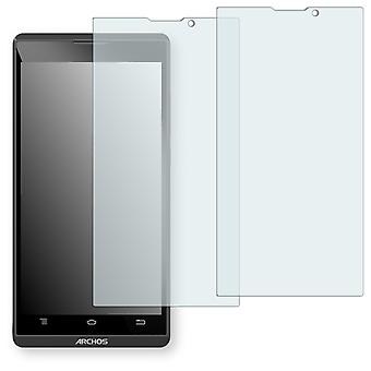 Archos 50B oxygen display protector - Golebo crystal clear protection film