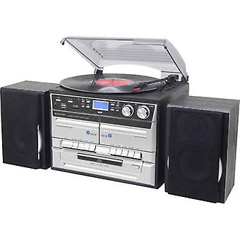 Audio system SoundMaster MCD5500SW AUX, CD, DAB+, Tape, Turntable, SD, FM, USB