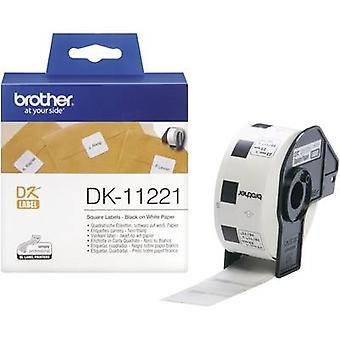 Brother Labels (roll) 23 x 23 mm Paper White 1000