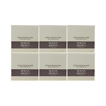 Molton Brown Ultra Pure Milk Soap 1.76oz/50g New In Box (Pack Of 6)