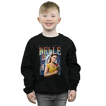 Disney Boys Beauty And The Beast Belle Montage Sweatshirt