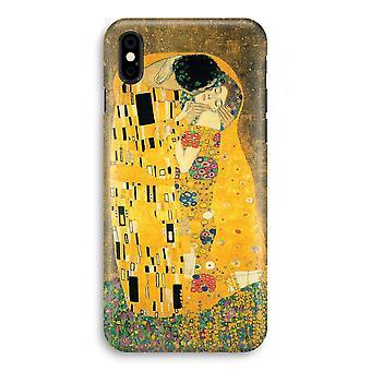 iPhone X Full Print Case (Glossy) - Der Kuss