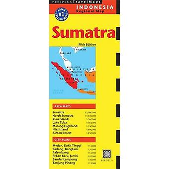 Sumatra Travel Map by Periplus Editions
