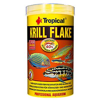 Tropical 77243 Krill Flakes 100 ml (Fish , Food , Warm Water)