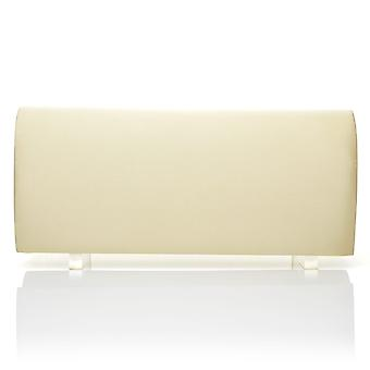 SIMPLE Champagne Gold Satin Medium Size Round Fold Over Clutch Bag