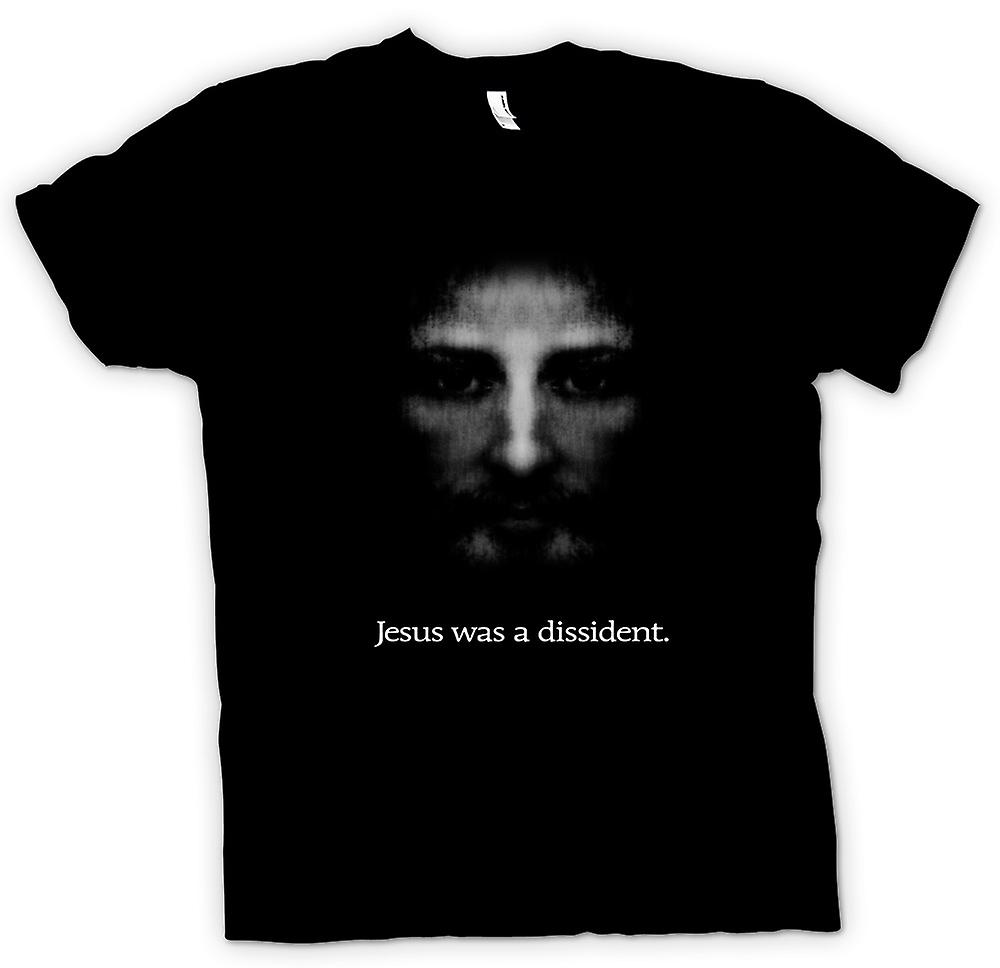 Mens T-shirt - Jesus was a Dissident - Icon T Shirt