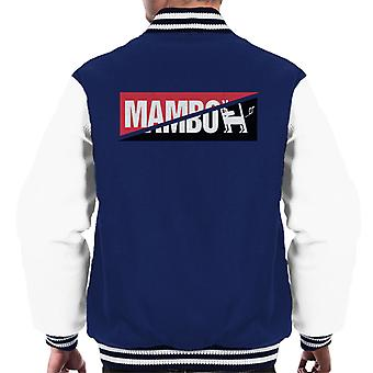 Mambo Split Logo Men's Varsity Jacket