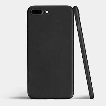 Matte black shell for iPhone 8 plus 0, 3 mm