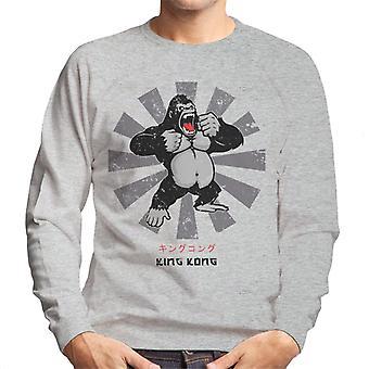 King Kong Retro-japanische Herren Sweatshirt