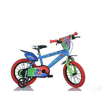 Bicicleta PjMasks Super pijama 16 pulgadas de diámetro