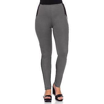 sheego Ladies Jersey pants of plus size grey Jeggings