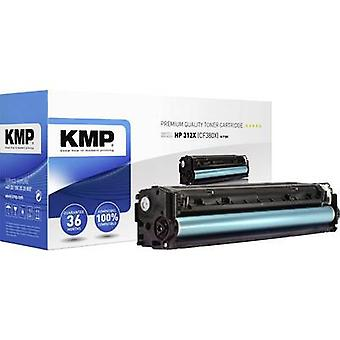 KMP Toner cartridge replaced HP 312X, CF380X Black 4400 pages H-T189