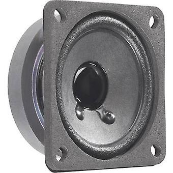 Mini loudspeaker Noise emission: 88 dB 8 W Visaton 2012 1 pc(s)