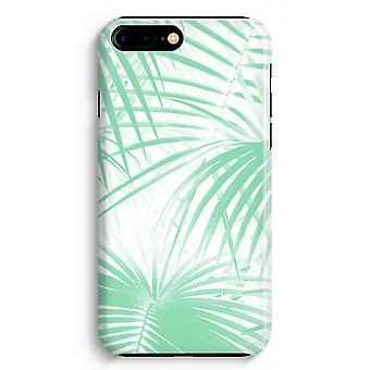 iPhone 8 Plus Full Print Case (Glossy) - Palm leaves
