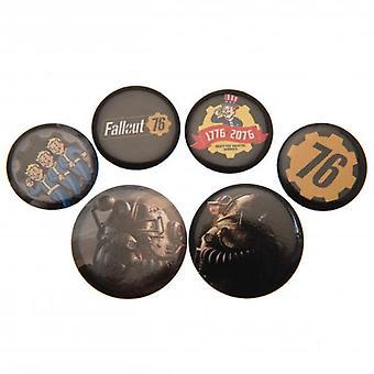 Fallout Button Badge Set