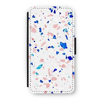 iPhone XS Flip Case - Terrazzo N ° 6