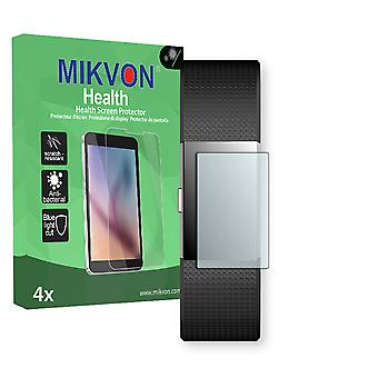 Fitbit Charge 2 Screen Protector - Mikvon Health (Retail Package with accessories) (intentionally smaller than the display due to its curved surface)