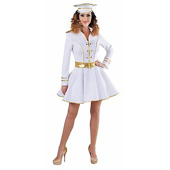 Women costumes Women Sexy Captain Lady