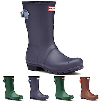 Womens Hunter Original justerbar rygg kort vinter snö regn Wellie Boot