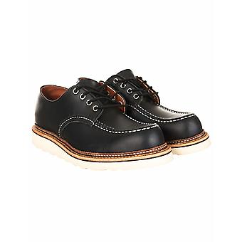 Red Wing 8106 Heritage Work Classic Oxford Shoe - Black Chrome