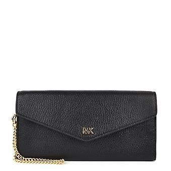 MICHAEL by Michael Kors Money Pieces Black Carryall Envelope Chain Wallet