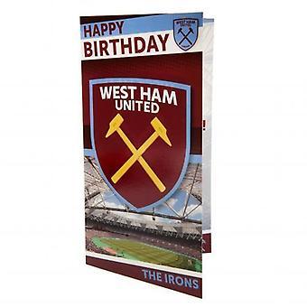 West Ham United födelsedagskort