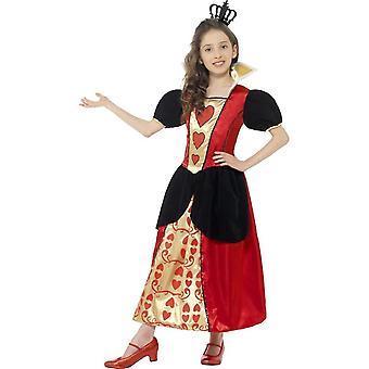 Miss Hearts Costume, Medium Age 7-9
