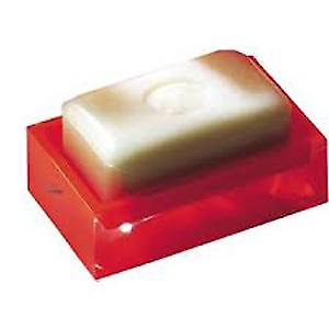 Gedy Rainbow Soap Dish Glossy Red RA11 06
