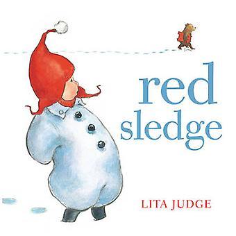 Röd kälke av Lita domare - 9781849397933 bok