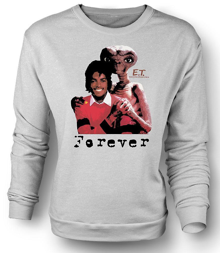 Mens Sweatshirt Et Michael Jackson - fremmede alltid