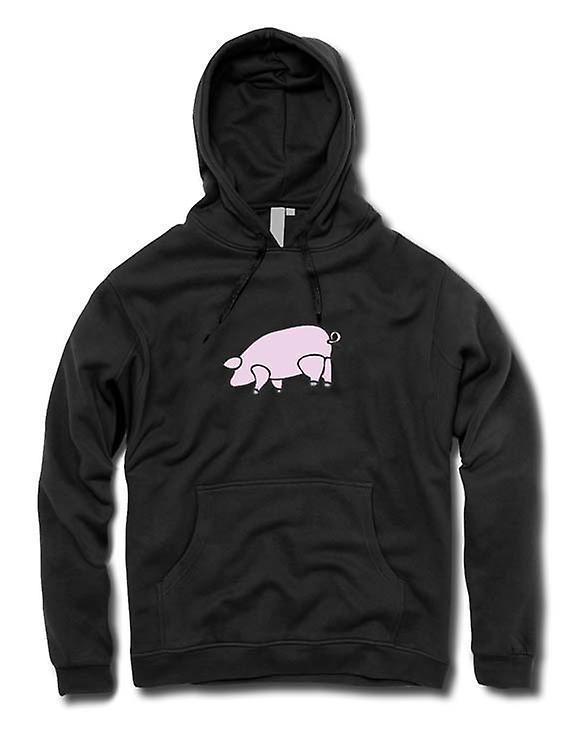 Mens Hoodie - Pink Floyd - Animals - Pig
