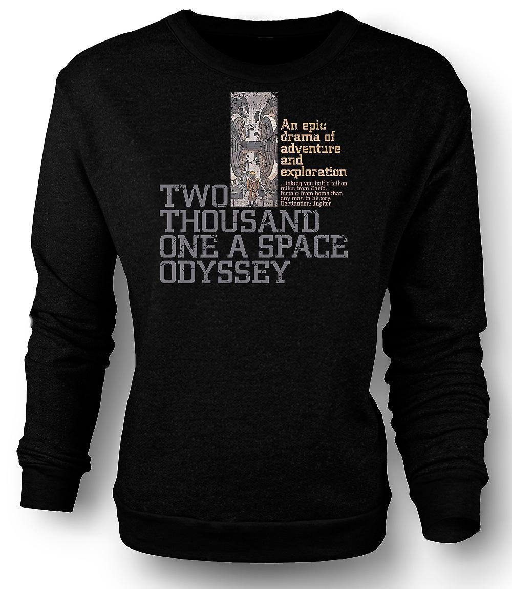Mens Sweatshirt 2001 A Space Odyssey - Kubrick