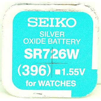 Seiko 396 (sr726w) 1.55V tlenek srebra (0% hg) akumulator Watch Mercury - Made In Japan