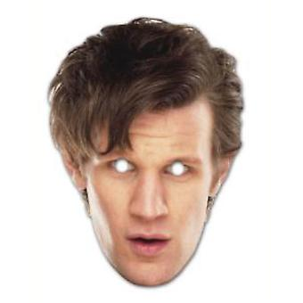 The 11th Doctor - Matt Smith Doctor Who Card Face Mask