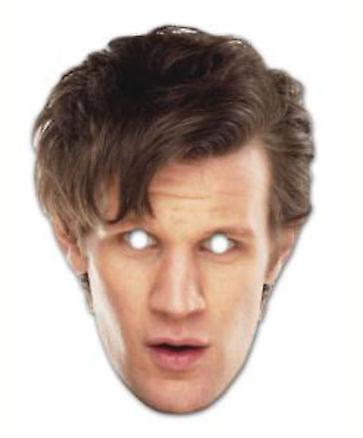Le 11e Docteur - Matt Smith Doctor Who carte Face Mask