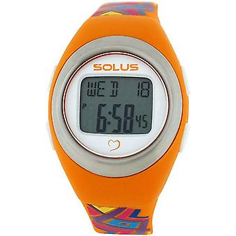 Solus Unisex Digital Day-Date Heart Rate Mde Multicolour PU Watch SL-800-010