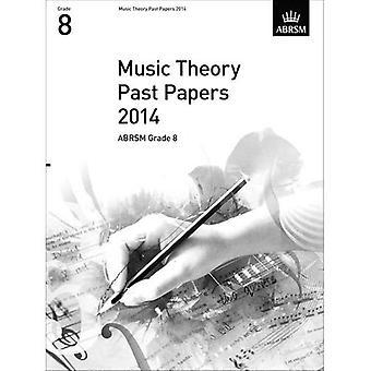 Musikteori forbi papirer 2014, ABRSM klasse 8