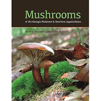 Setas de la Georgia Piedmont y Apalaches del sur: una referencia (serie del libro de la naturaleza de Wormsloe Fundación)